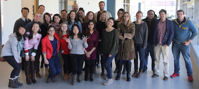 Graduate students group picture